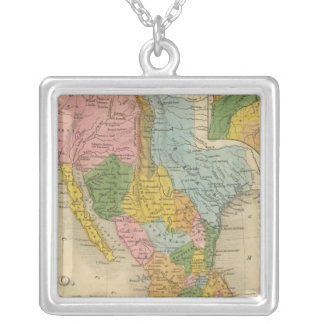 Mexico, Texas Silver Plated Necklace