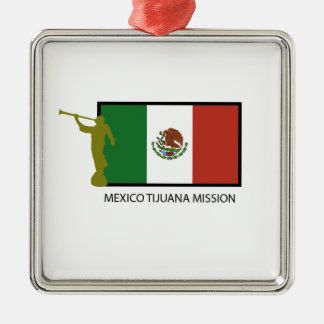 MEXICO TIJUANA MISSION LDS CTR CHRISTMAS ORNAMENT