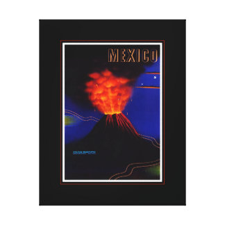 Mexico Travel Canvas Print