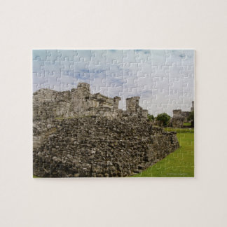 Mexico, Tulum, ancient ruins 2 Jigsaw Puzzle