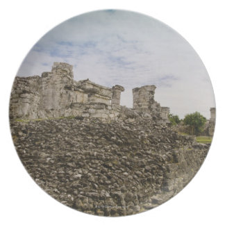 Mexico, Tulum, ancient ruins 2 Plate