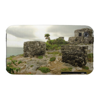 Mexico, Tulum, ancient ruins iPhone 3 Covers
