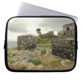 Mexico, Tulum, ancient ruins Laptop Sleeve