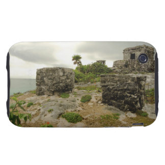 Mexico, Tulum, ancient ruins Tough iPhone 3 Covers