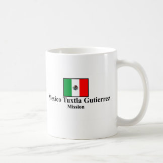 Mexico Tuxtla Gutierrez Mission copy Basic White Mug