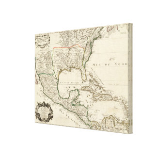 Mexico, United States Canvas Print