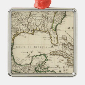 Mexico, United States Christmas Ornament
