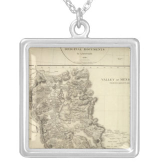 Mexico Valley 2 Silver Plated Necklace