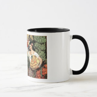 Mexico vintage coffee cup