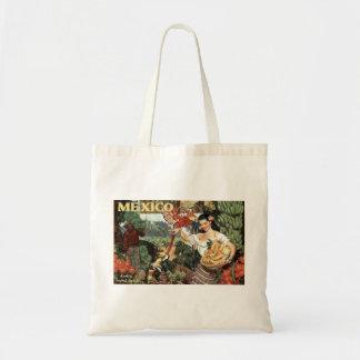 Mexico vintage, tote bag