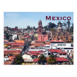 Mexico Vintage Tourism Travel Add Postcard