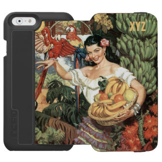 Mexico vintage travel custom monogram wallet cases incipio watson™ iPhone 6 wallet case