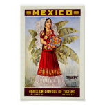 Mexico Vintage Travel Posters