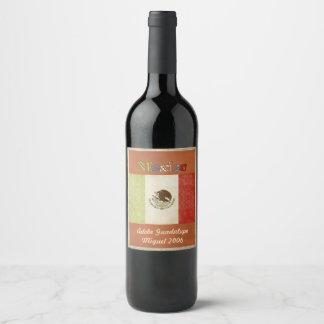 Mexico Wine Label