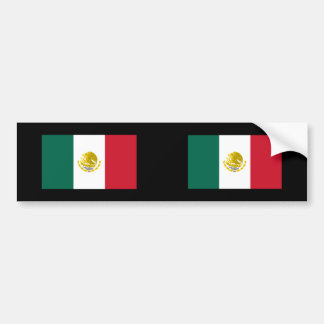 Mexico with Golden and Silver Arms, Mexico Bumper Stickers