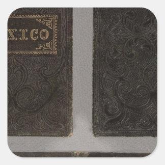 Mexico, Yucatan, and Southern California Square Sticker
