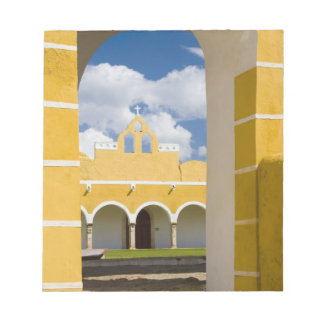 Mexico, Yucatan, Izamal. The Franciscan Convent 2 Notepad