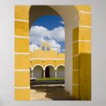 Mexico, Yucatan, Izamal. The Franciscan Convent 2 Print