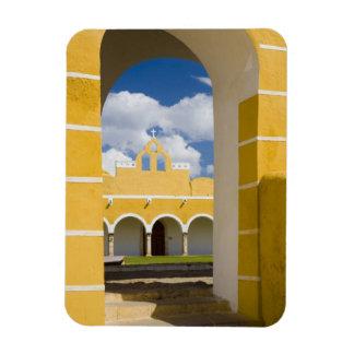 Mexico, Yucatan, Izamal. The Franciscan Convent 2 Rectangular Photo Magnet