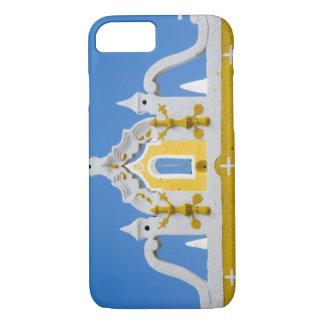 Mexico, Yucatan, Izamal. The Franciscan Convent 3 iPhone 8/7 Case