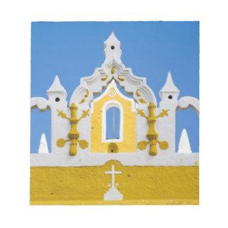 Mexico, Yucatan, Izamal. The Franciscan Convent 3 Notepad