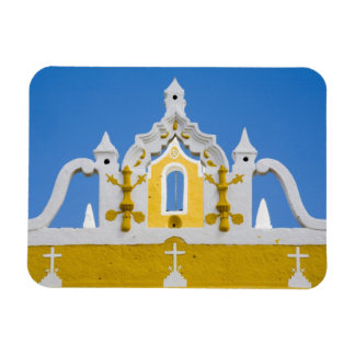 Mexico, Yucatan, Izamal. The Franciscan Convent 3 Rectangular Photo Magnet