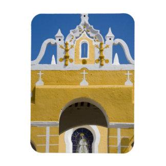 Mexico, Yucatan, Izamal. The Franciscan Convent Rectangular Photo Magnet