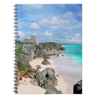 Mexico, Yucatan, Peninsula, Ruins Of Tulum, Mayan Spiral Note Book