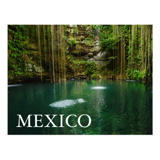 Mexico, Yucatan, Scenic Lake Postcard
