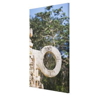 Mexico, Yucatan, Uxmal. Uxmal, a large Canvas Print
