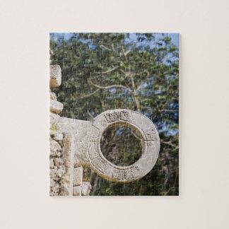 Mexico, Yucatan, Uxmal. Uxmal, a large Jigsaw Puzzle