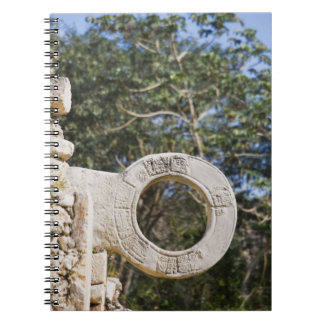 Mexico, Yucatan, Uxmal. Uxmal, a large Notebooks