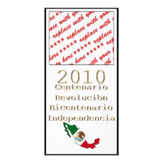 Mexico's Bicentennial & Centennial Celebration Photo Greeting Card