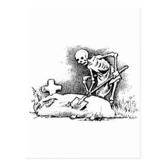 "Mexico's ""Day of the Dead"" circa 1949 Postcard"