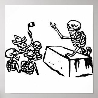 """Mexico's """"Day of the Dead"""" """"Dia de los Muertos"""" Poster"""