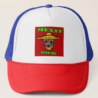 MEXIT NOW TRUCKER HAT