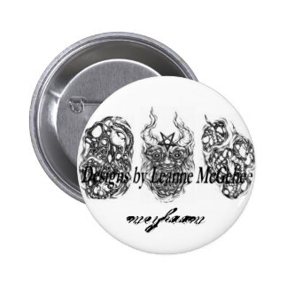 meyhaam 6 cm round badge