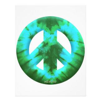 Meyoto Green Tie Dye Custom Flyer