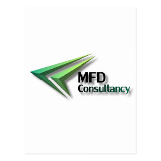 MFD Consultancy Merchandise Postcard
