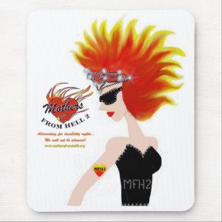 MFH2 - Flaming Hair Tiara Mousepad
