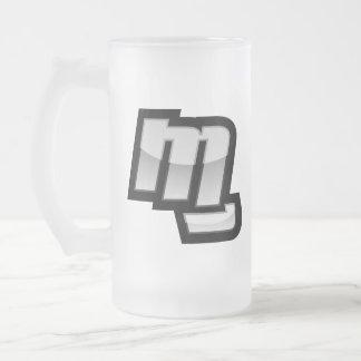 MG Fist Symbol Frosted Glass Mug