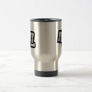 MG Fist Symbol Stainless Steel Travel Mug