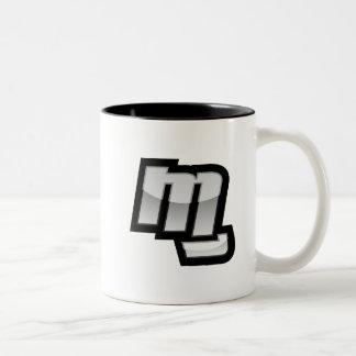 MG Fist Symbol Two-Tone Mug