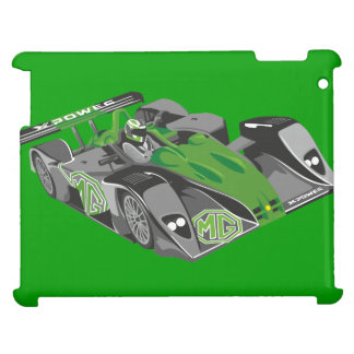 MG Le Mans Car Classic Hiking Duck iPad Cases
