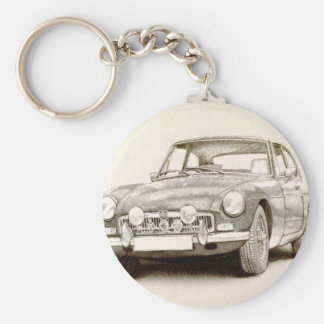 MG MGB MkII Key Ring