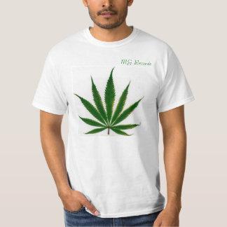 (MG Records) Simple T-Shirt. Tees