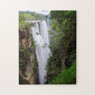 Mgawa Falls, Near Lusikisiki, Wild Coast Jigsaw Puzzle