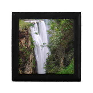 Mgawa Falls, Near Lusikisiki, Wild Coast Small Square Gift Box