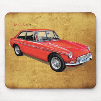 Mgbgt hardtop coupe mouse pad