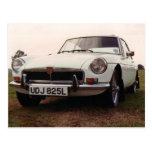 MGBGT Sports Car Postcard